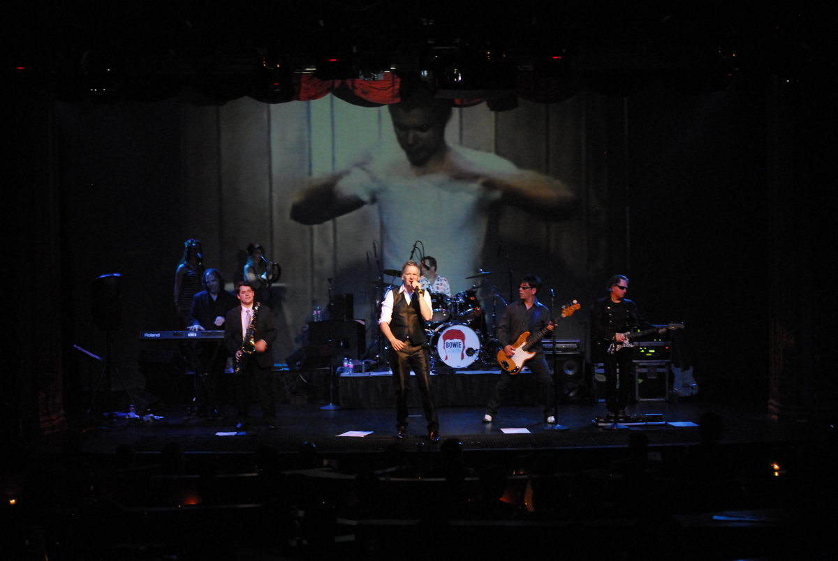 BowieVision live at the Triple Door